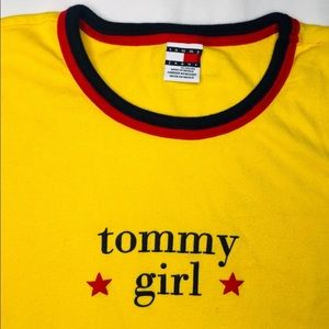 Rare VTG Tommy Girl Shirt